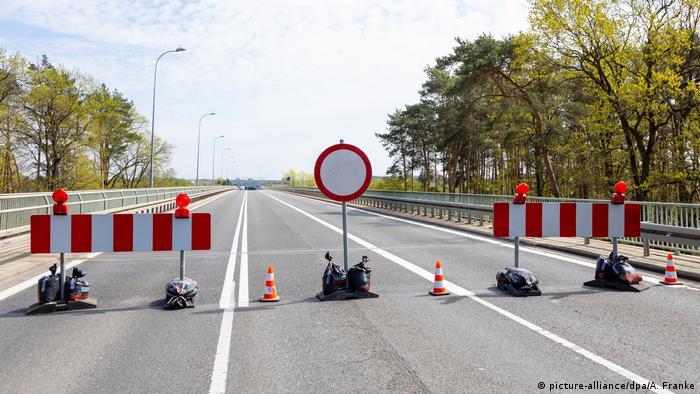 Graniţa germano-poloneză a fost închisă în aprilie 2020