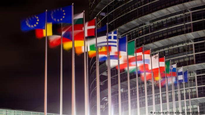 31.02.2020 przed Europejskim Parlamentem nie powiewała brytyjska flaga