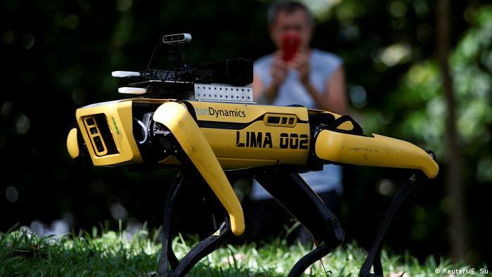 Singapore's robot dog