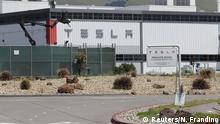 USA Kalifornien   Coronavirus   Tesla-Fabrik
