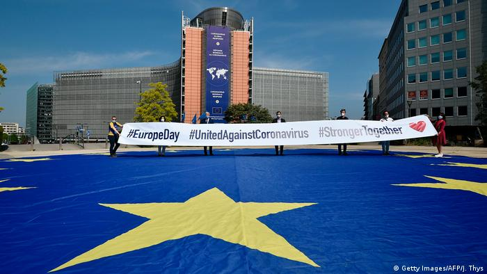 Brüssel EU |Europe Day | 70 Jahre EU | Didier Reynders u.a.