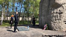 Polen 75 Jahrestag der Befreiung des Konzentrationslagers Stutthof in der Nähe von Danzig