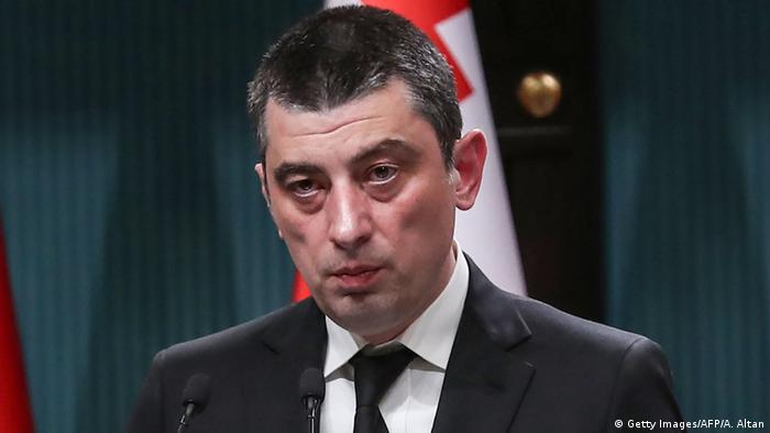 Giorgi Gacharia Ministerpräsident Georgien