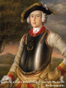 Реальный барон Мюнхгаузен. Портрет 1752 г.