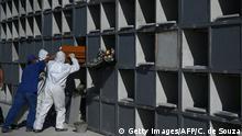 Brasilien | Coronavirus | Pandemie | Friedhofsmitarbeiter