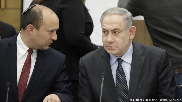 Benet i Netanjahu u Knesetu 2020.