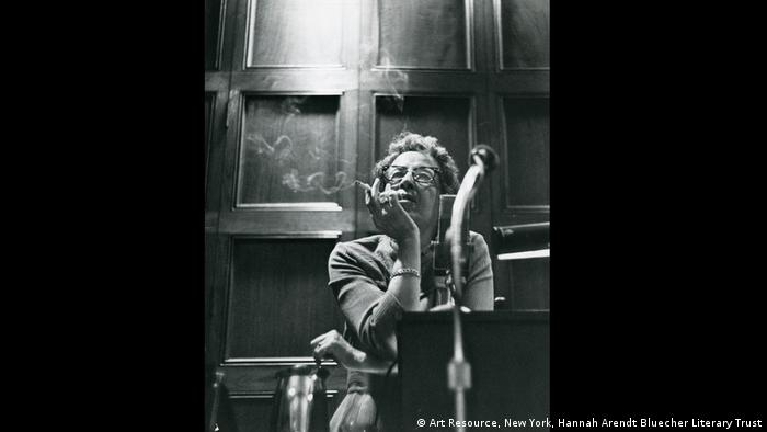 Hannah Arendt at the University of Chicago (Art Resource, New York, Hannah Arendt Bluecher Literary Trust)