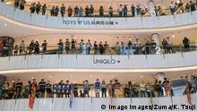 Hongkong Anti Regierungsproteste flash mob