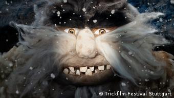Internationales Trickfilm-Festival Stuttgart 2020 Melting Heart Cake - Szene mit animiertem Monster aus einem Film