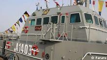 ***ACHTUNG: Bild nur für die Iran-Radktion freigegeben!*** Leichtunterstützungsschiff der iranischen Marine, Konarak, das während einer Millitärübung am Sonntag, den 10. Mai 2020 versehentlich getroffen wurde. via Pedram Habibi Quelle: https://fararu.com/files/fa/news/1399/2/22/676659_270.jpg Rechte: Fararu