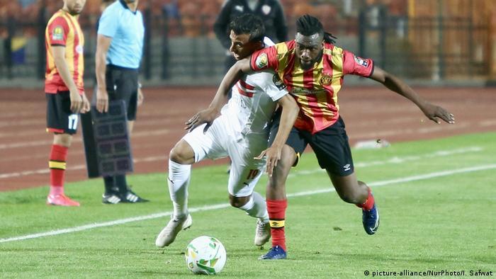 CAF Champions League game between Egypt's Zamaleka and Tunisia's Esperance
