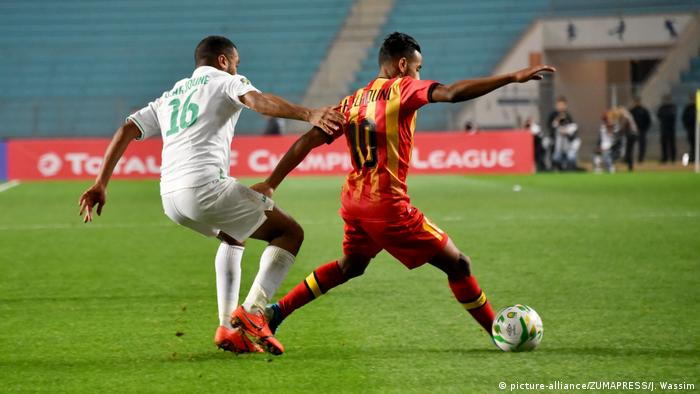 Sport Fussball CAF Champions League 2019 Hamdou el Houni und Omare Arjoune