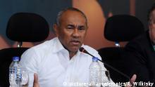 Sport Fussball CAF-Präsident Ahmad Ahmad