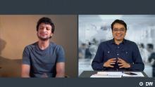 Bangladesch DW Interview Khaled Muhiuddin und Shakib Al Hasan