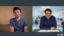 Bangladesch DW Interview Khaled Muhiuddin und Shakib Al Hasan. Rechte: DW