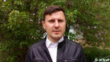 Weißrussland Journalist Alexander Burakov
