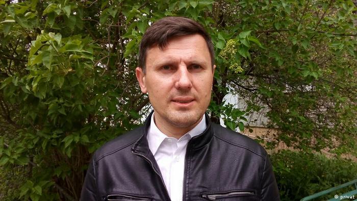 Weißrussland Journalist Alexander Burakov (privat)