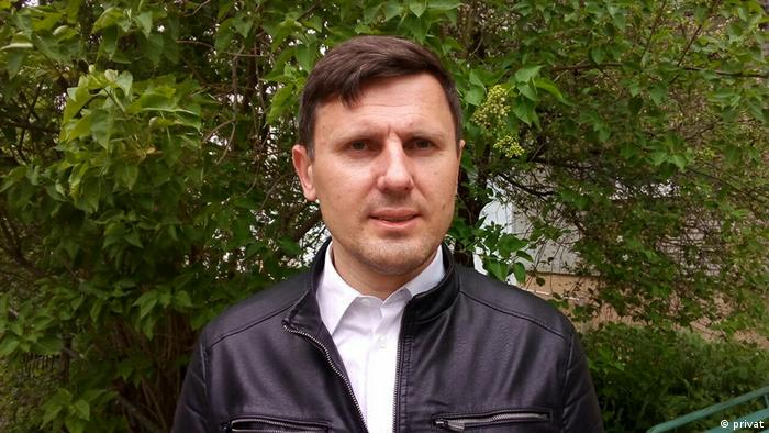 Journalist Alexander Burakov (privat)