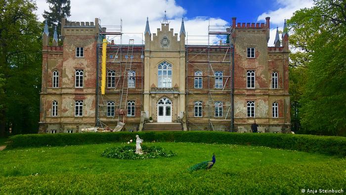 Liebevoll restauriert: Herrenhaus Vogelsang bei Rostock.