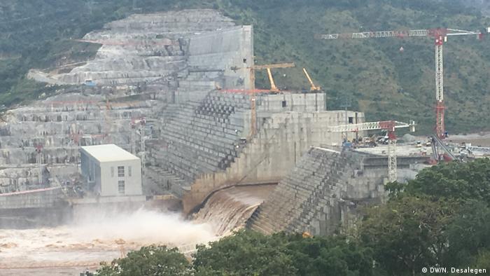 Äthiopien Addis Abeba | Report | Grand Ethiopian Renaissance Dam (DW/N. Desalegen)