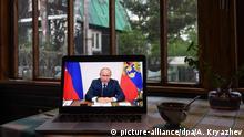 Russland - Putin wendet sich an Nation