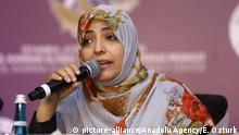 Türkei Istanbul 2015 |Tawakkul Karman, Friedensnobelpreisträgerin