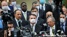 Brasilien Brasilia   Coronavirus   Jair Bolsonaro, Präsident