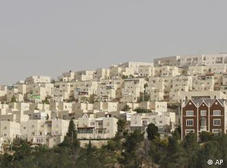 A general view of the east Jerusalem neighborhood of Ramat Sholmo, Wednesday, March 10, 2010. Israel's new plan to build 1,600 homes for Jews in Palestinian-claimed east Jerusalem overshadowed Vice President Joe Biden's visit to the West Bank on Wednesday. Biden was to hold talks with Palestinian President Mahmoud Abbas and Prime Minister Salam Fayyad, in part to ease their doubts about the latest U.S. peace efforts. (AP Photo/Dan Balilty)