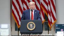 USA | Donald Trump | Maskenpflicht für Mitarbeiter im Weißen Haus