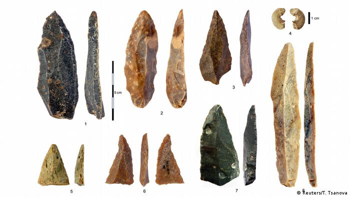 Bulgarian artifacts (Reuters/T. Tsanova)