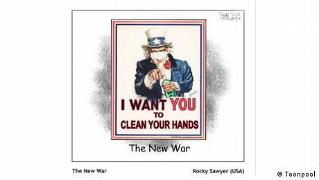 হাত ধুতে থাকো, ধোও, ধুতে থাকো ধোও (von Rocky Sawyer aus den USA)