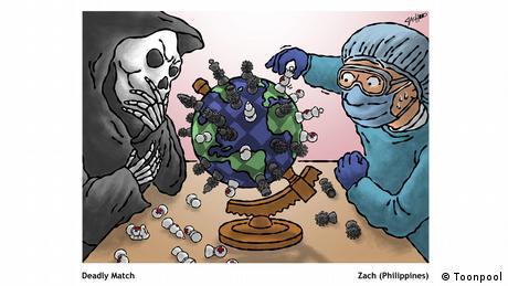 গবেষণাগারগুলো ভ্যাকসিন তৈরির চেষ্টা করছে (von Zach aus den Philippinen)