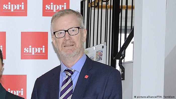 Dan Smith, der Direktor des Stockholmer Friedensforschungsinstituts SIPRI (Foto: picture-alliance/TT/K. Tornblom)