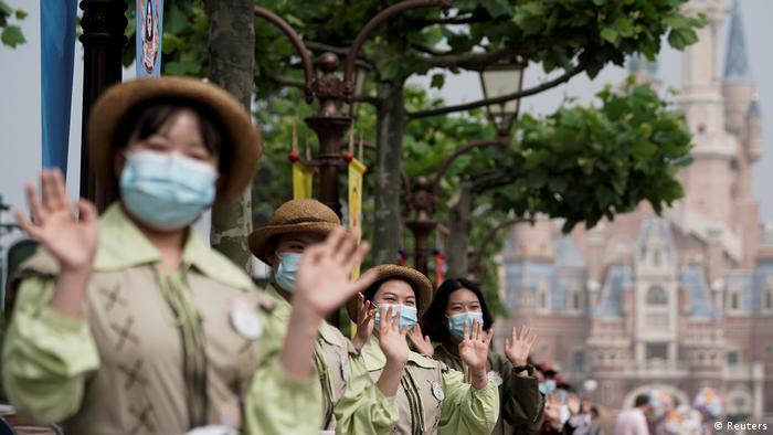 Диснейленд в Шанхае