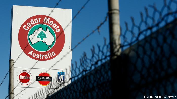 A general view of Cedar Meats abattoir in Brooklyn on May 05, 2020 in Melbourne, Australia