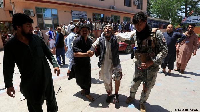 Afghanistan Kabul Anschlag auf Beerdigung (Reuters/Parwiz)