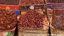 Datteln auf einem pakistanischen Markt
