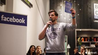 Asesor político y experto en redes sociales Martin Fuchs.
