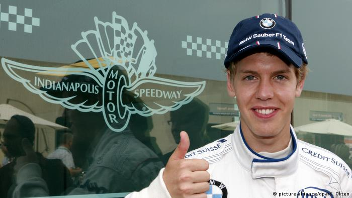 Sebastian Vettel with BMW Sauber (picture-alliance/dpa/K. Okten)