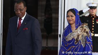 Le président Idriss Deby Itno et sa femme, Hinda Déby Itno (Image/Archives)