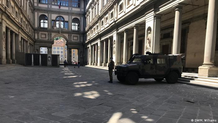 The Uffizi Galleries in Florence