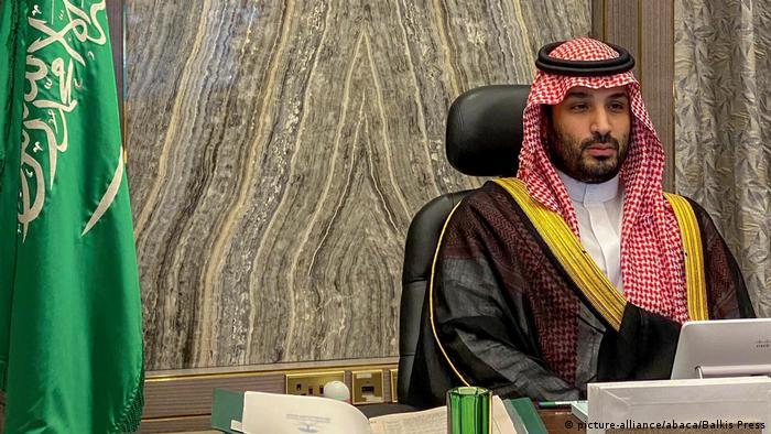 Saudi-Arabien Kronprinz Mohammed bin Salman (picture-alliance/abaca/Balkis Press)