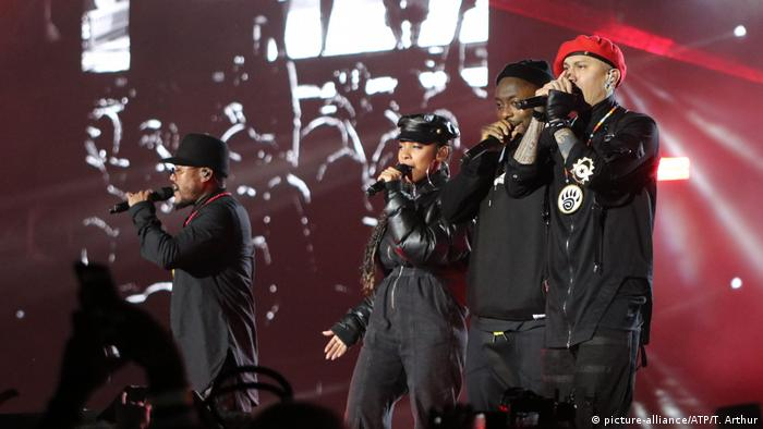 Saudi-Arabien Musikband Black Eyed Peas in Riad (picture-alliance/ATP/T. Arthur)