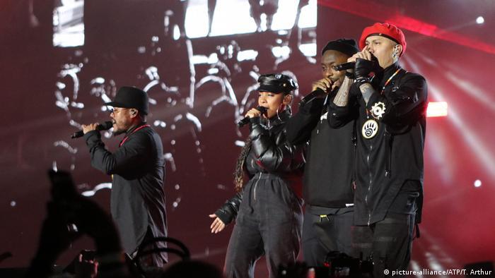 Saudi-Arabien Musikband Black Eyed Peas in Riad