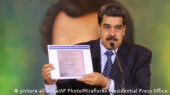 Venezuela Caracas   Nicolas Maduro, Präsident