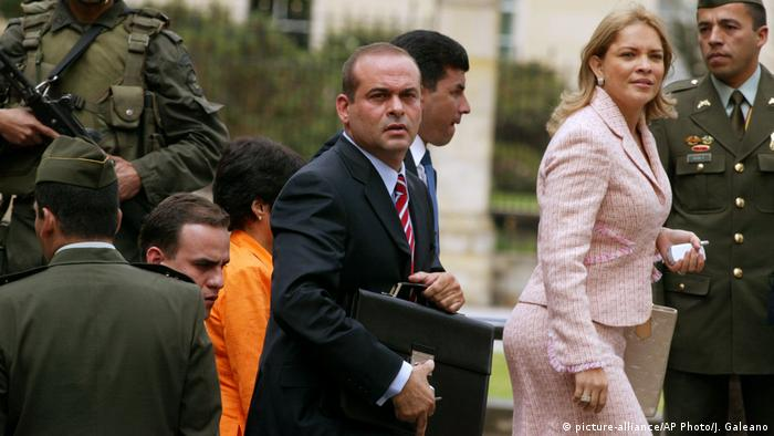 Salvatore Mancuso (picture-alliance/AP Photo/J. Galeano)