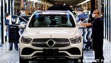 China Daimler-BAIC Werk in Peking
