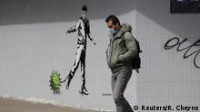 Coronavirus Street Art