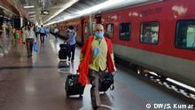 Indien Coronavirus Zugverkehr