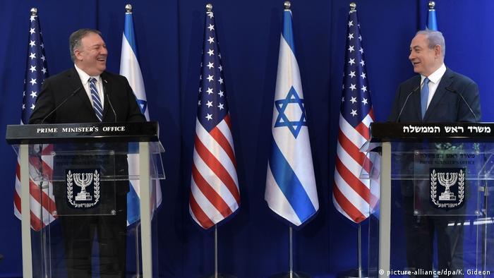 Pompeo and Netanjahu